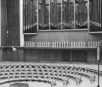 Großer Sendesaal im Funkhaus Nalepastraße, Aufnahme von 1956